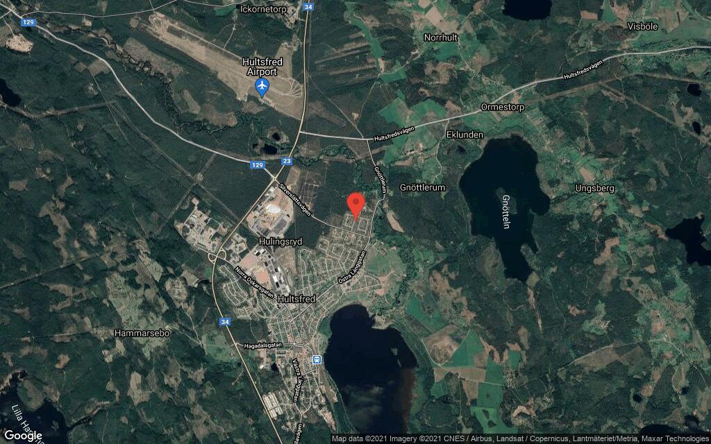 104 kvadratmeter stort hus i Hultsfred sålt