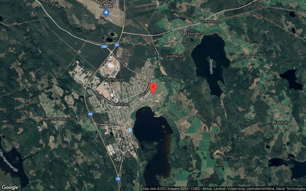 115 kvadratmeter stort hus i Hultsfred sålt