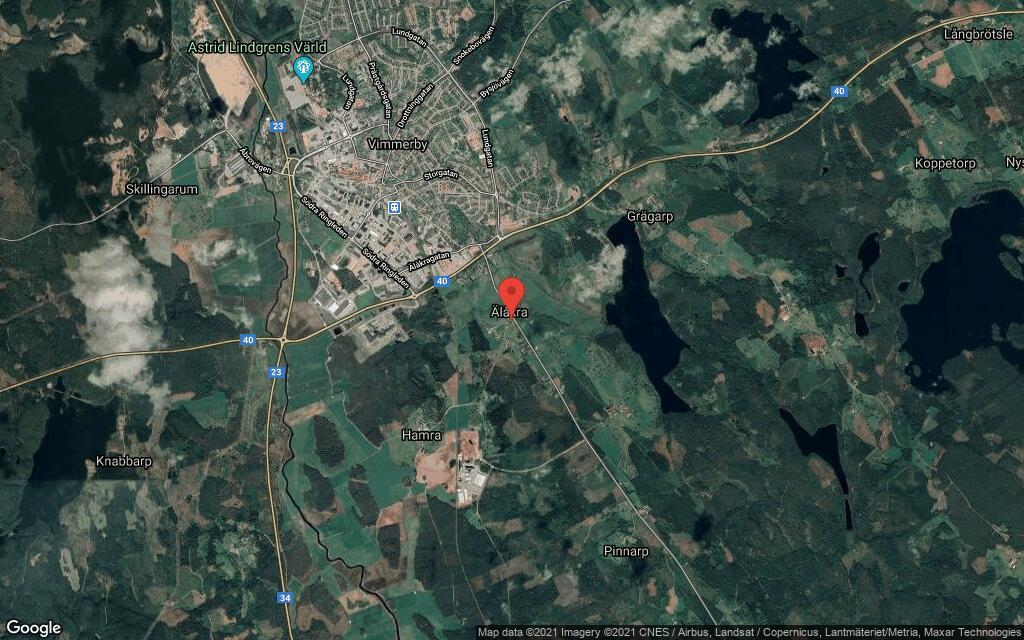 47-åring ny ägare till hus i Vimmerby