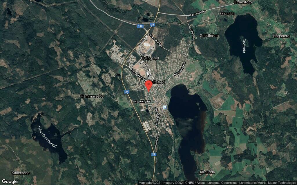 85 kvadratmeter stort hus i Hultsfred sålt till ny ägare