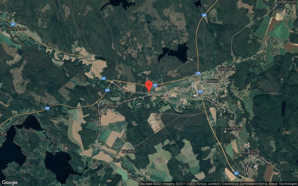 38-åring ny ägare till fastigheten på Sanatorievägen 1 i Målilla