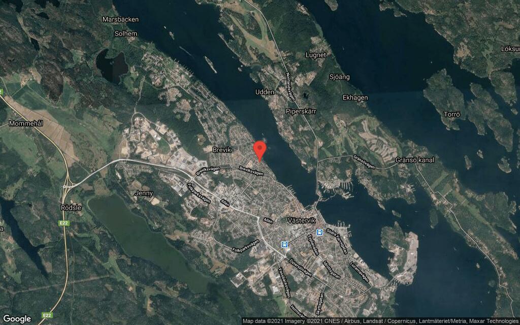 144 kvadratmeter stort radhus i Västervik sålt till nya ägare
