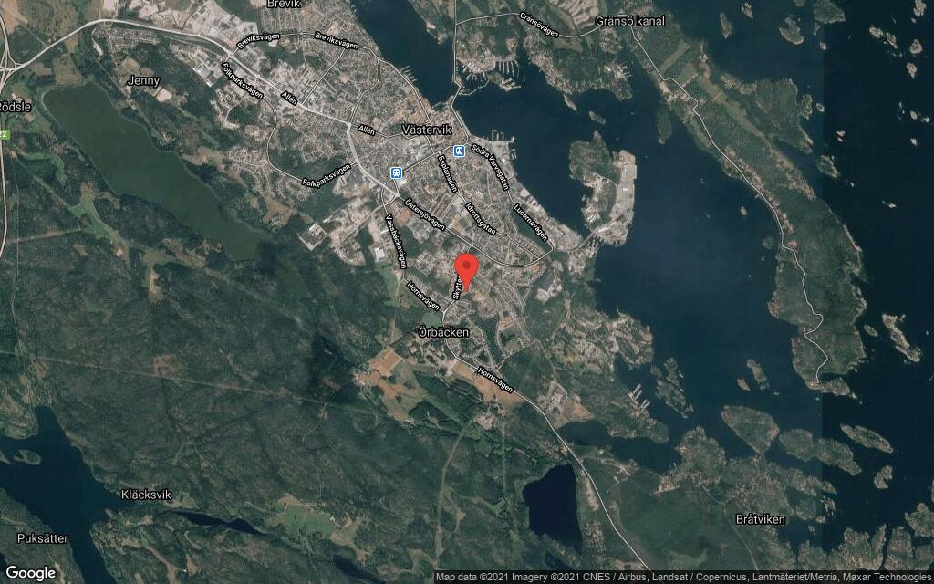Radhus på 82 kvadratmeter från 1968 sålt i Västervik