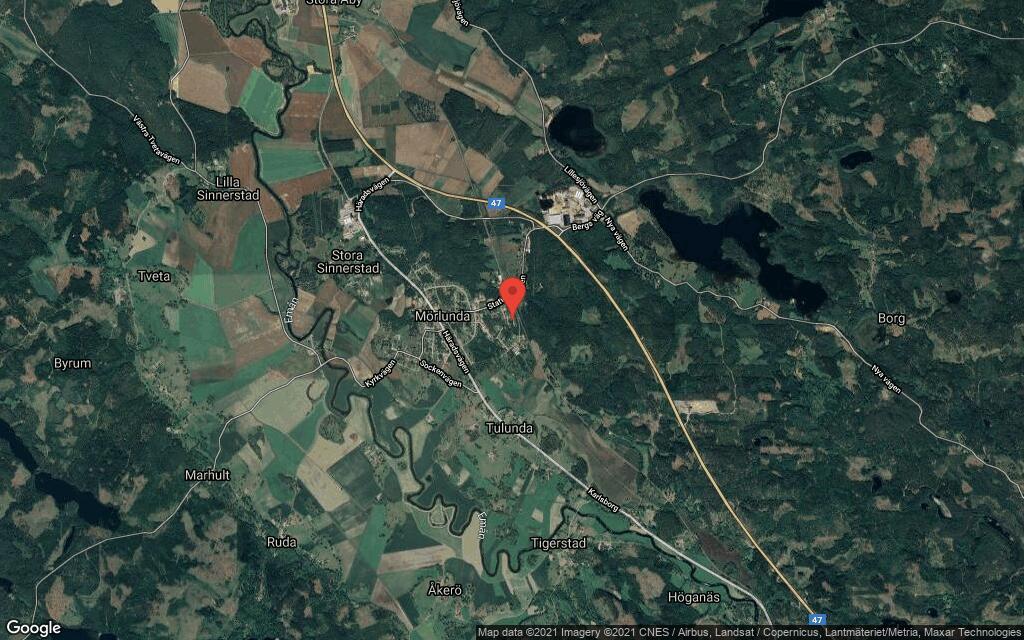 127 kvadratmeter stort hus i Mörlunda sålt