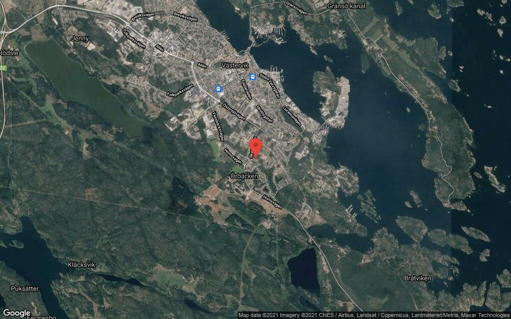 147 kvadratmeter stort kedjehus i Västervik sålt
