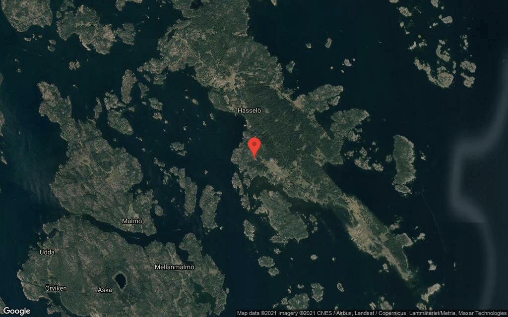 Huset på Hasselö Vedhälla Kabelviken 3 i Västervik sålt igen – andra gången på kort tid