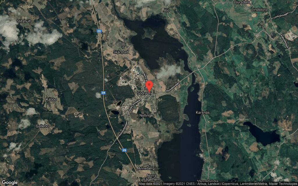 Huset på Ekängsvägen 5 i Södra Vi sålt för andra gången på kort tid