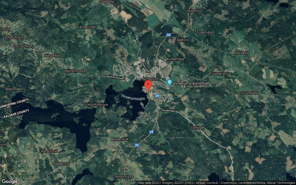 Huset på Västra Nygatan 13 i Virserum sålt för andra gången på kort tid