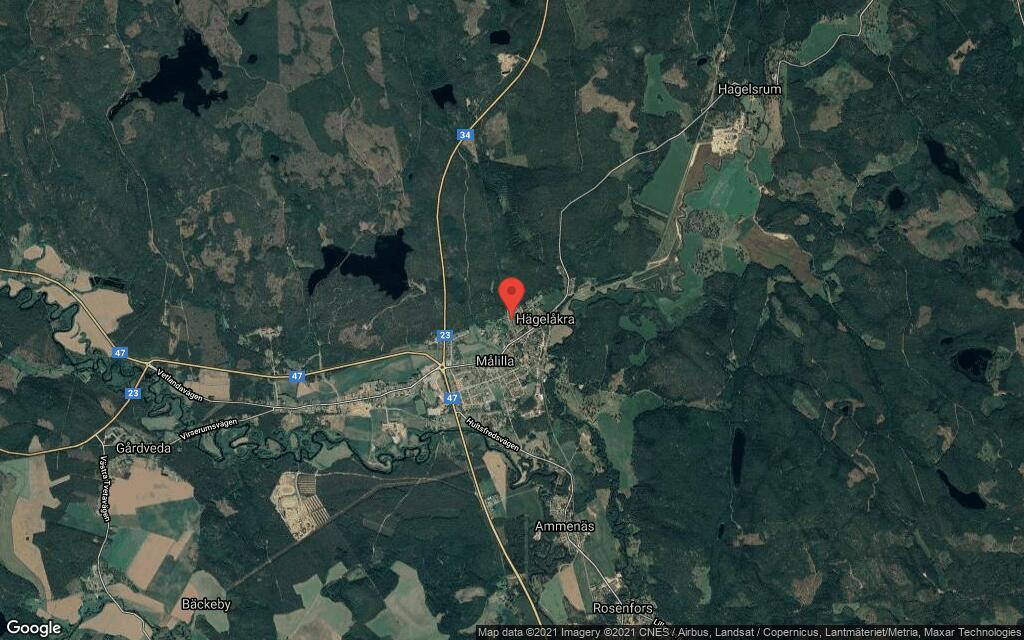 128 kvadratmeter stort hus i Målilla sålt till ny ägare