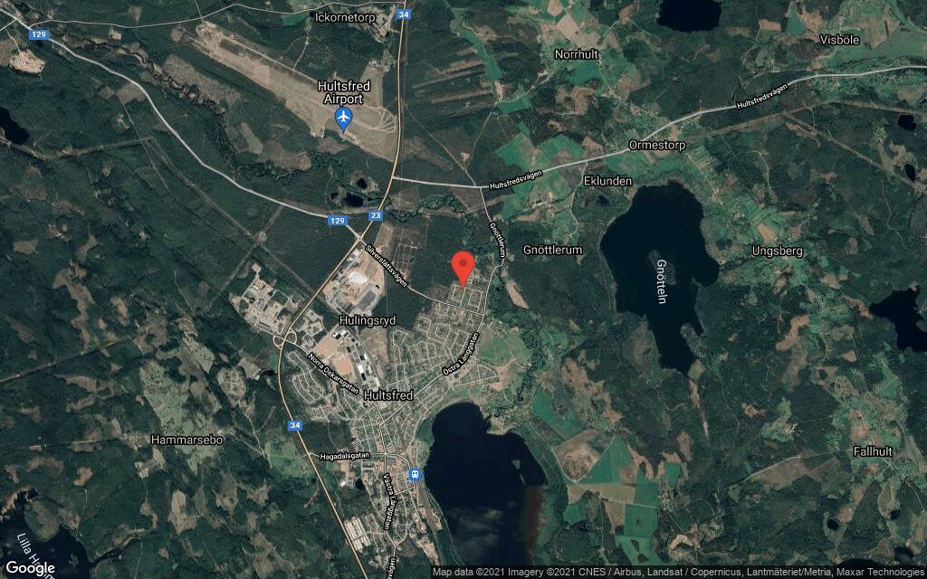 102 kvadratmeter stort hus i Hultsfred sålt