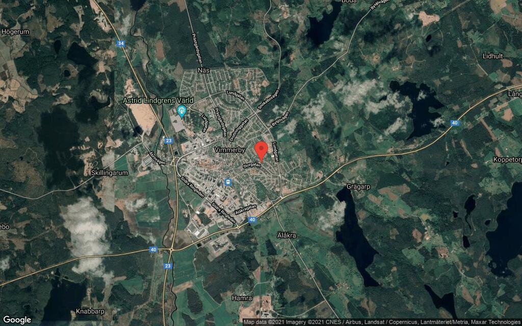 Huset på Fältskärsgränd 4 i Vimmerby sålt för andra gången på kort tid