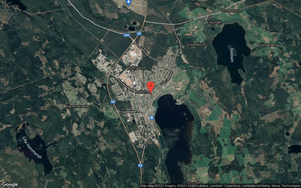 122 kvadratmeter stort hus i Hultsfred sålt till nya ägare
