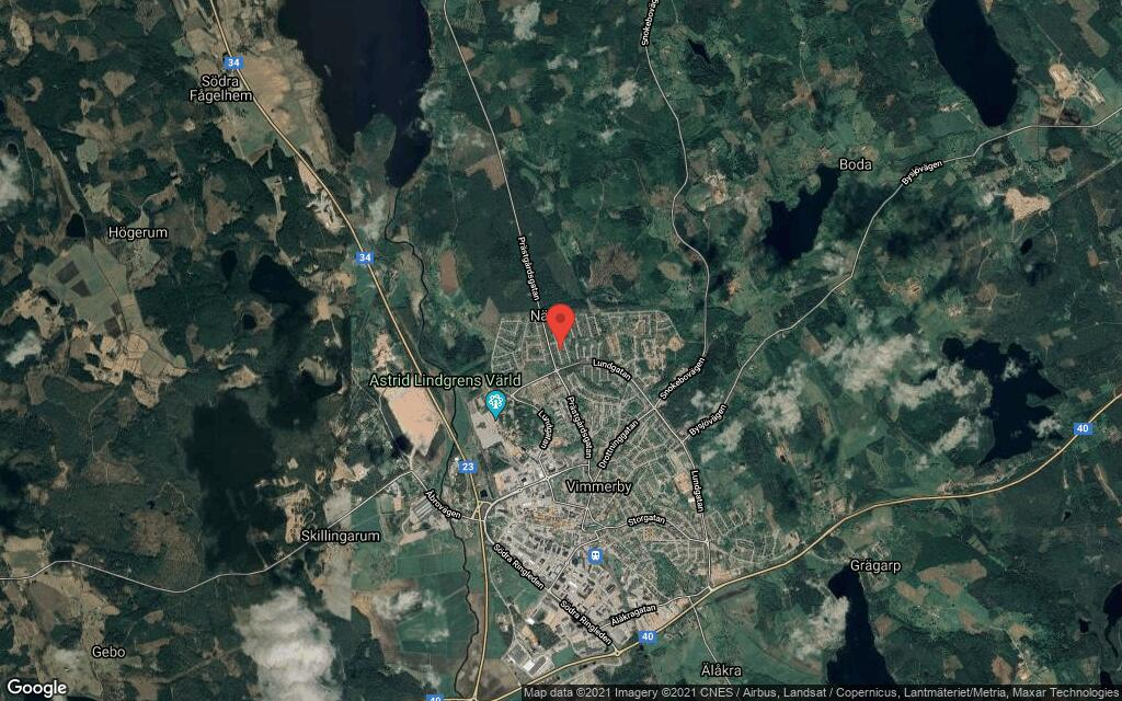 116 kvadratmeter stort hus i Vimmerby sålt