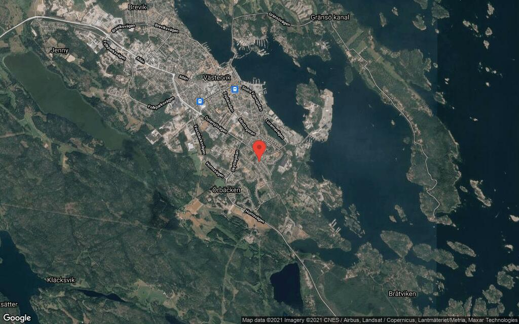 76 kvadratmeter stort hus i Västervik sålt