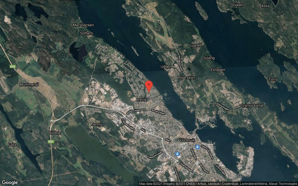 90 kvadratmeter stort hus i Västervik sålt till nya ägare