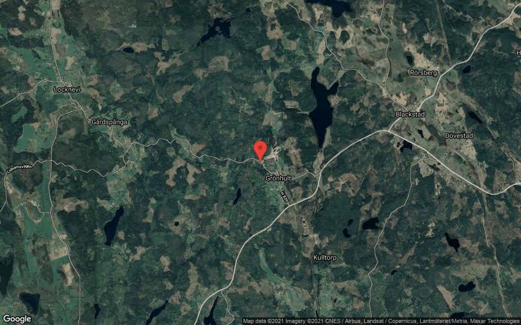 110 kvadratmeter stort hus i Blackstad sålt