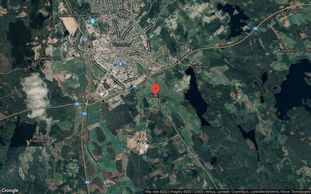 Hus på 80 kvadratmeter från 1920 sålt i Vimmerby