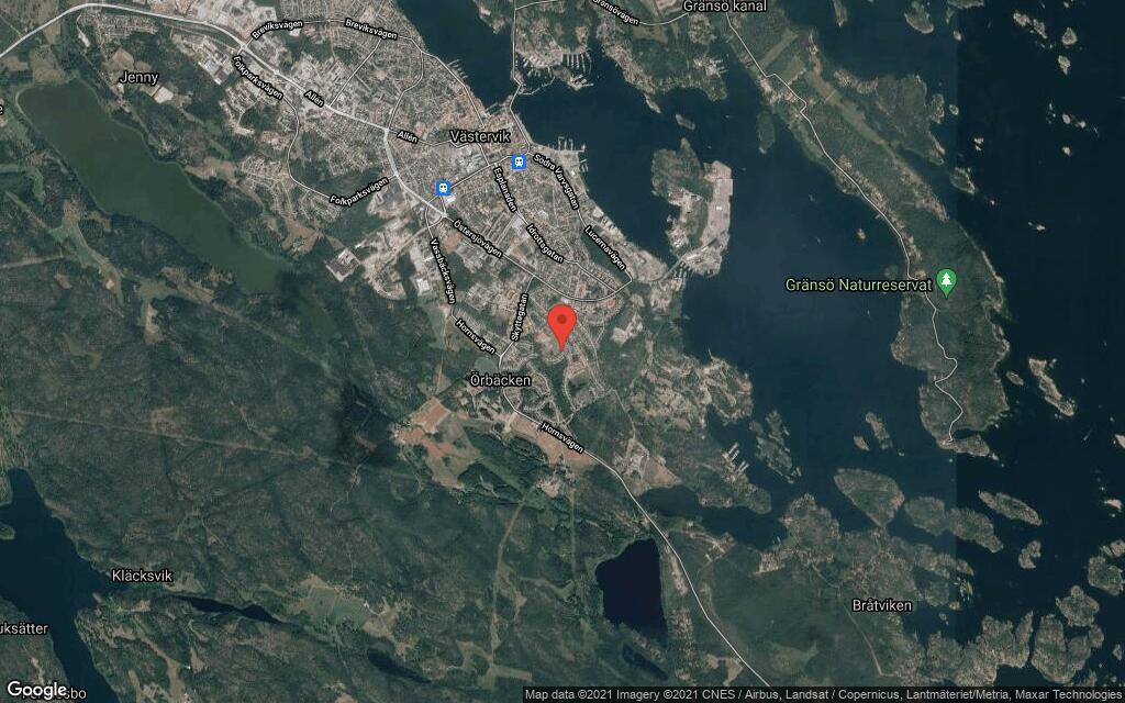 100 kvadratmeter stort hus i Västervik sålt