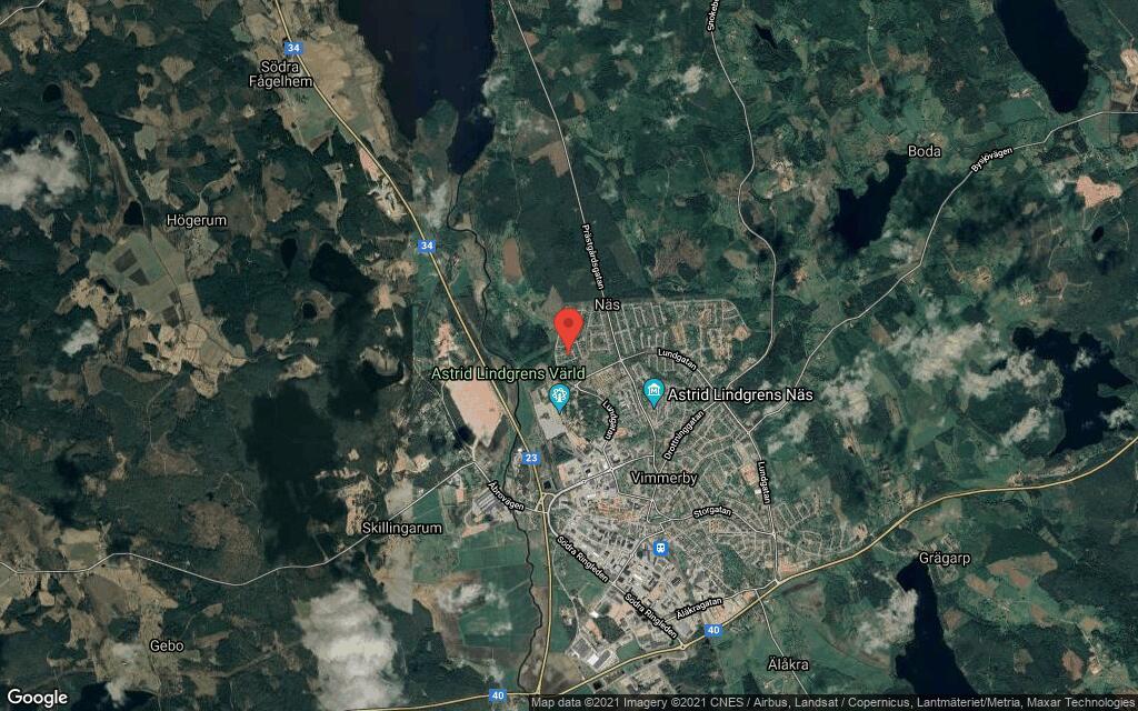 103 kvadratmeter stort hus i Vimmerby sålt till nya ägare