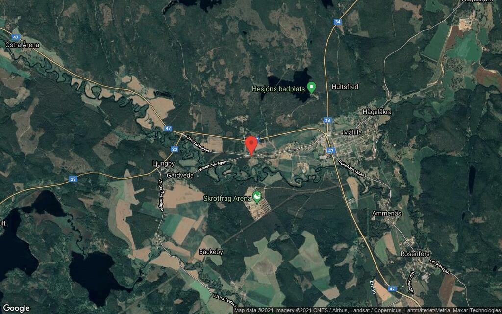 98 kvadratmeter stort hus i Målilla sålt till nya ägare