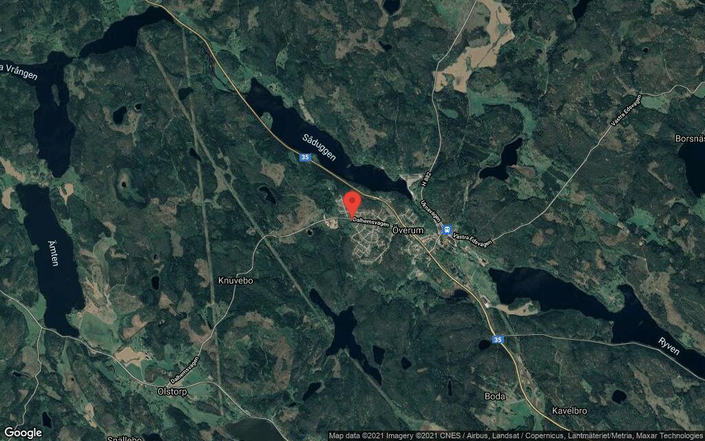 Fastigheten på postadress Dalhemsvägen 41 i Överum har bytt ägare