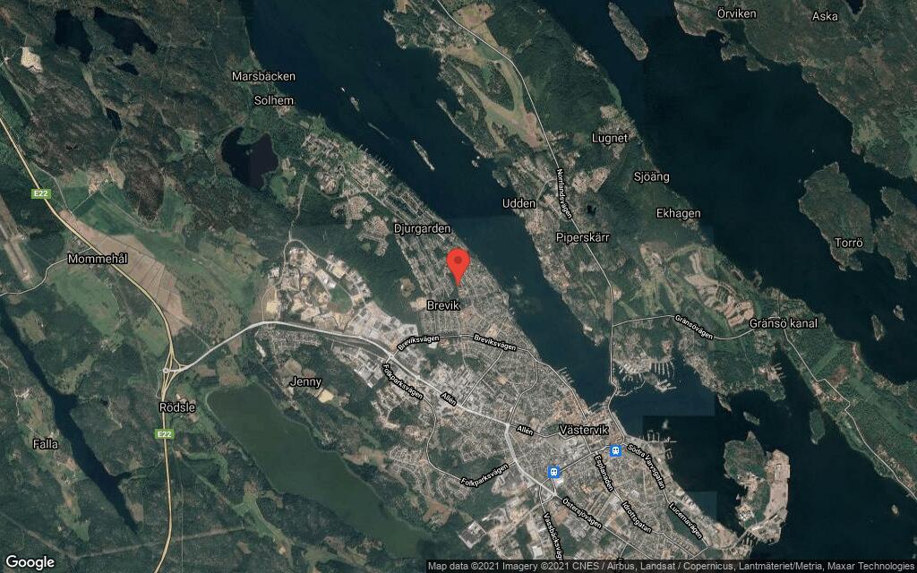 82 kvadratmeter stort radhus i Västervik sålt till ny ägare