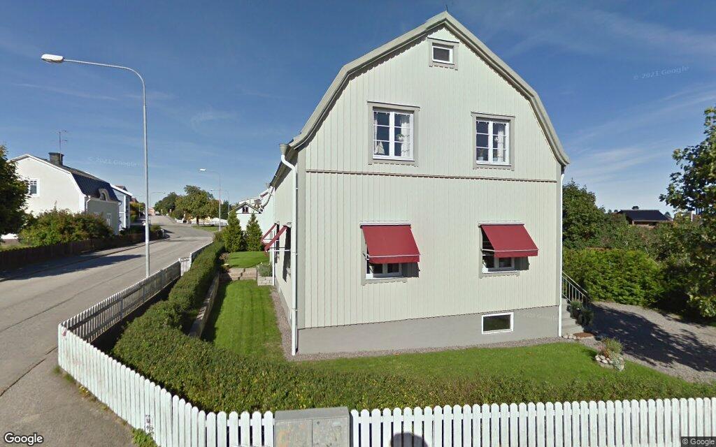 Huset på Östra Ekdalsgatan 10 i Västervik sålt igen – andra gången på kort tid