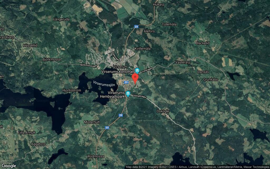 50-talshus på 100 kvadratmeter sålt i Virserum