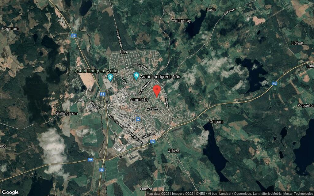 92 kvadratmeter stort hus i Vimmerby sålt till nya ägare