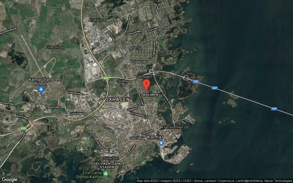 130 kvadratmeter stort hus i Kalmar sålt