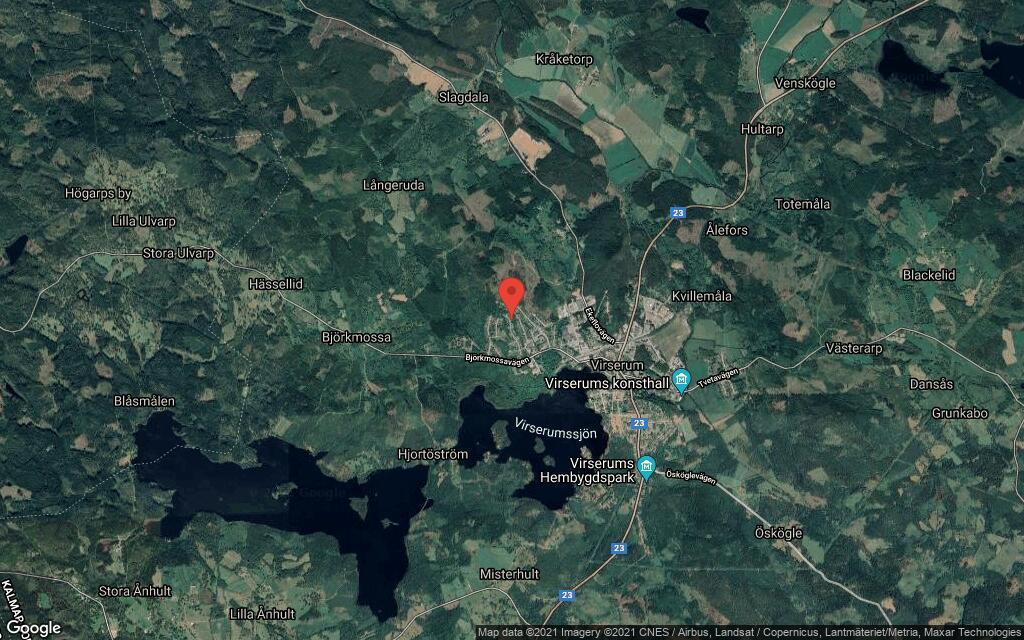 96 kvadratmeter stort hus i Virserum sålt till ny ägare