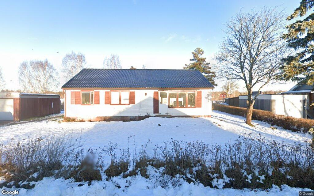106 kvadratmeter stort hus i Hultsfred sålt