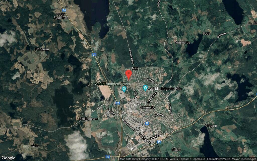 Tomt i Vimmerby har fått ny ägare