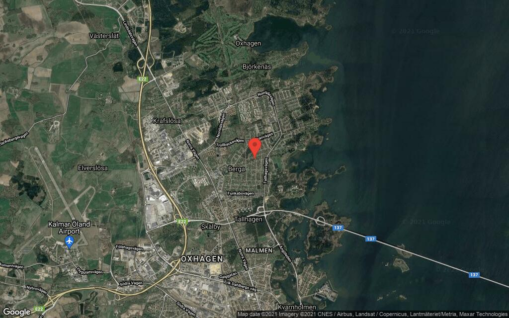 161 kvadratmeter stort hus i Kalmar sålt