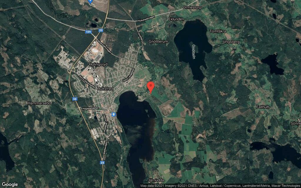 80 kvadratmeter stort hus i Hultsfred sålt till nya ägare