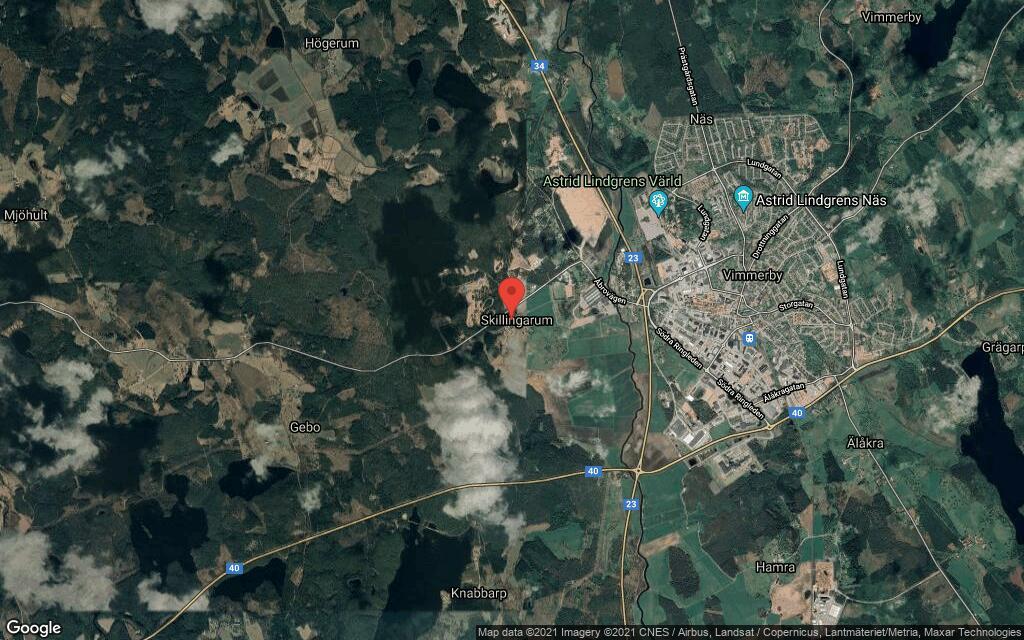 Fastigheten på Skillingarumsvägen 34 i Vimmerby får ny ägare