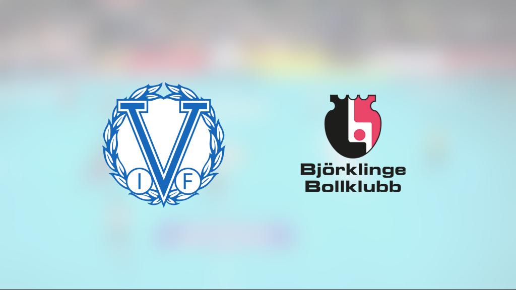 Björklinge vann efter avgörande i tredje perioden mot Värmdö