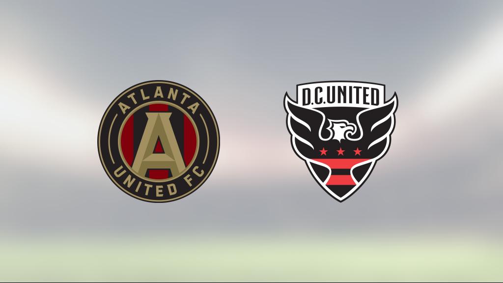 Seger för DC United borta mot Atlanta