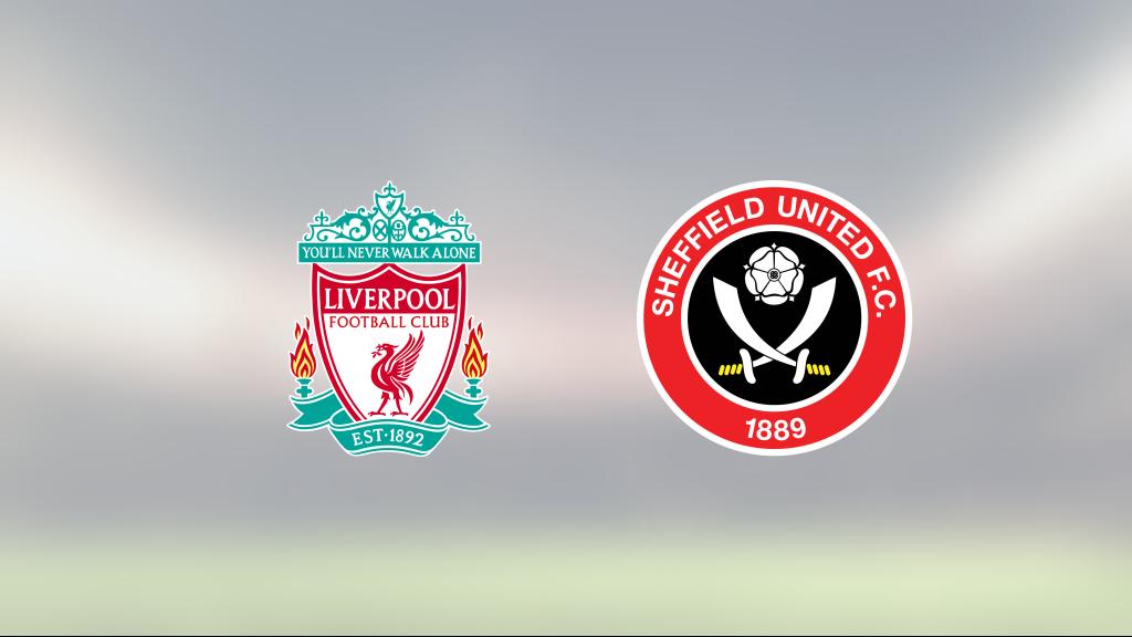 Roberto Firmino och Diogo Jota avgjorde hemma mot Sheffield United