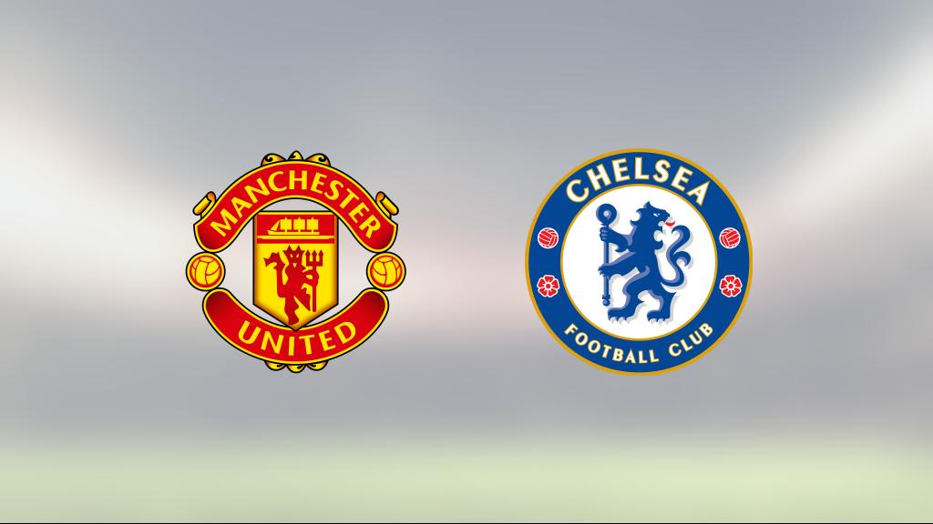 Mållöst när Manchester United tog emot Chelsea