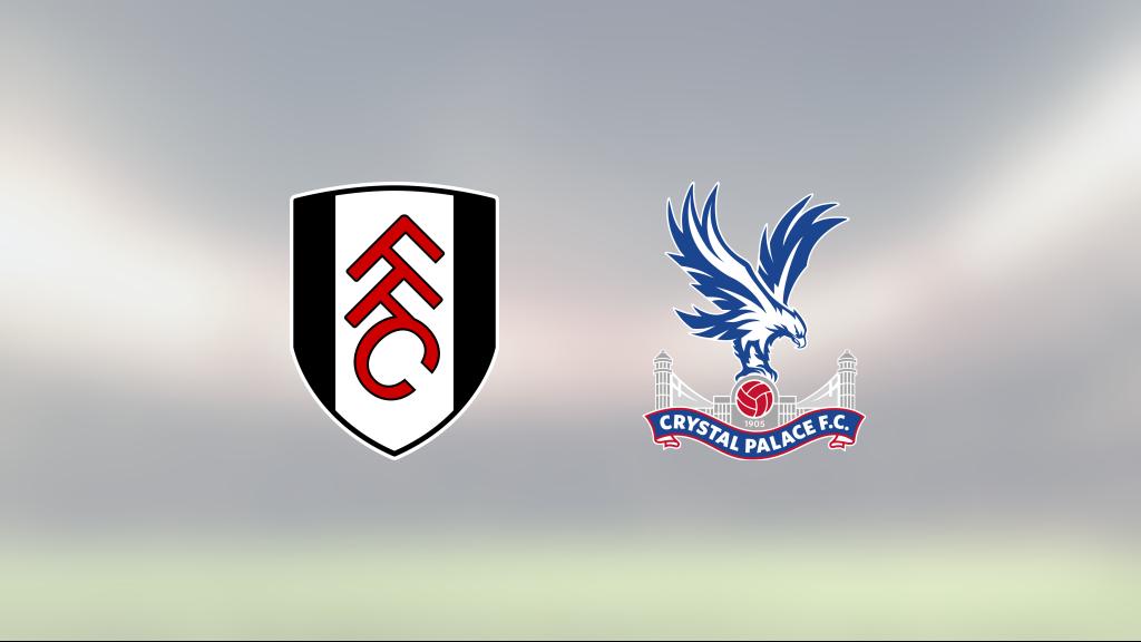 Jairo Riedewald och Wilfried Zaha matchvinnare när Crystal Palace besegrade Fulham