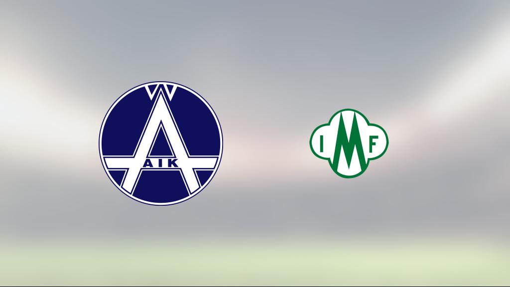 Mallbacken har fyra raka segrar – vann mot Älvsjö AIK med 2–0