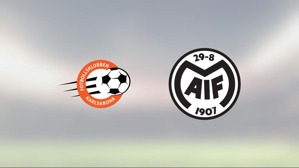 Motala äntligen segrare igen efter vinst mot FK Karlskrona