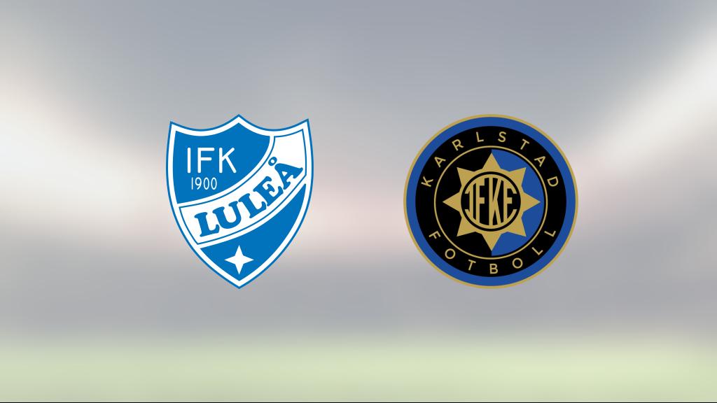 Delad pott för IFK Luleå och IF Karlstad