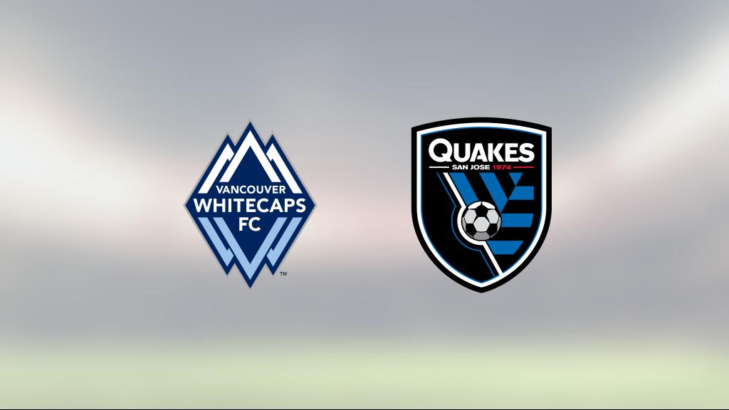 Uddamålsseger för Vancouver Whitecaps FC som besegrade San Jose Earthquakes