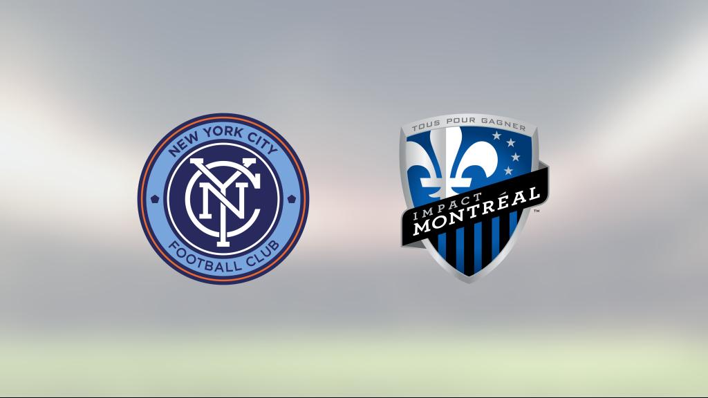 Seger för New York City hemma mot Montreal