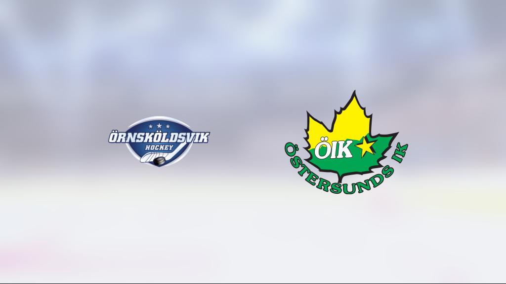 Östersund IK avgjorde tät match mot Örnsköldsvik Hockey i tredje perioden