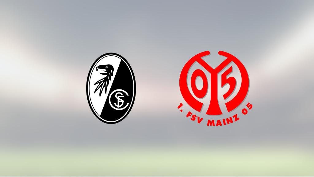 3–1 mot Freiburg innebär första segern för Mainz