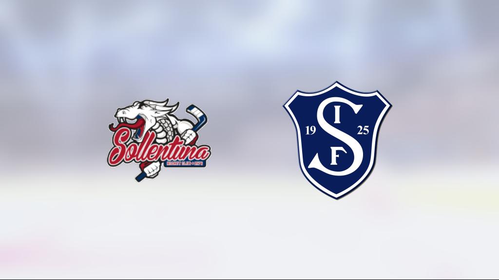 Segeltorp vann i HockeyEttan Kvalserien östra mot Sollentuna
