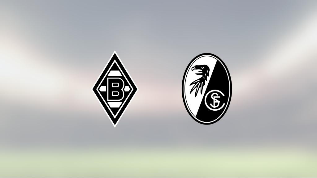 Underläge i halvtid – då vände Mönchengladbach och vann